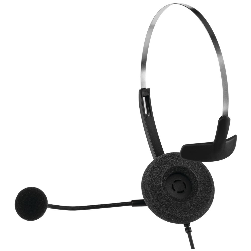 Headset Corporativo Mono RJ9 CHS 40 RJ9 Intelbras