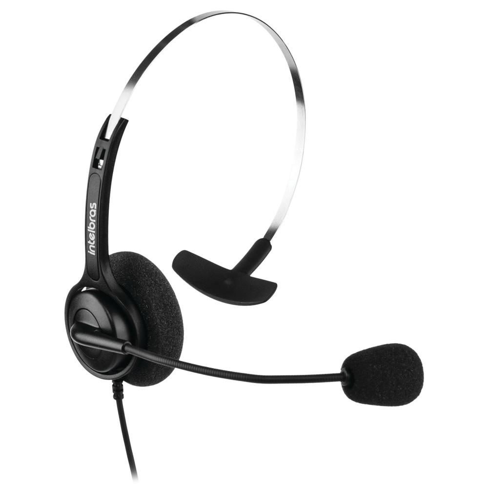Headset Corporativo Mono RJ9 CHS 40 RJ9 Intelbras