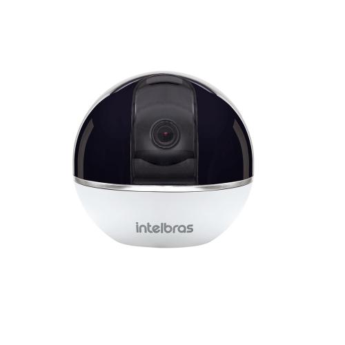 Câmera IP Sem Fio Wi-Fi 360° HD Com Alarme Integrado Áudio iC7 Intelbras