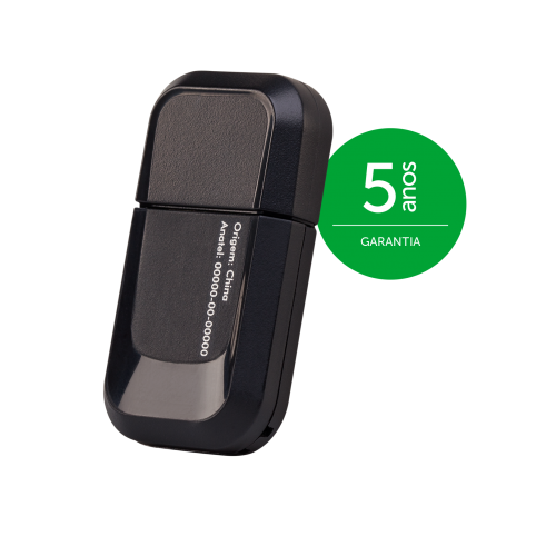 Adaptador Wireless USB 2,4GHz 300Mbps 2 Antenas 1,5 dBi - IWA 3000 Intelbras