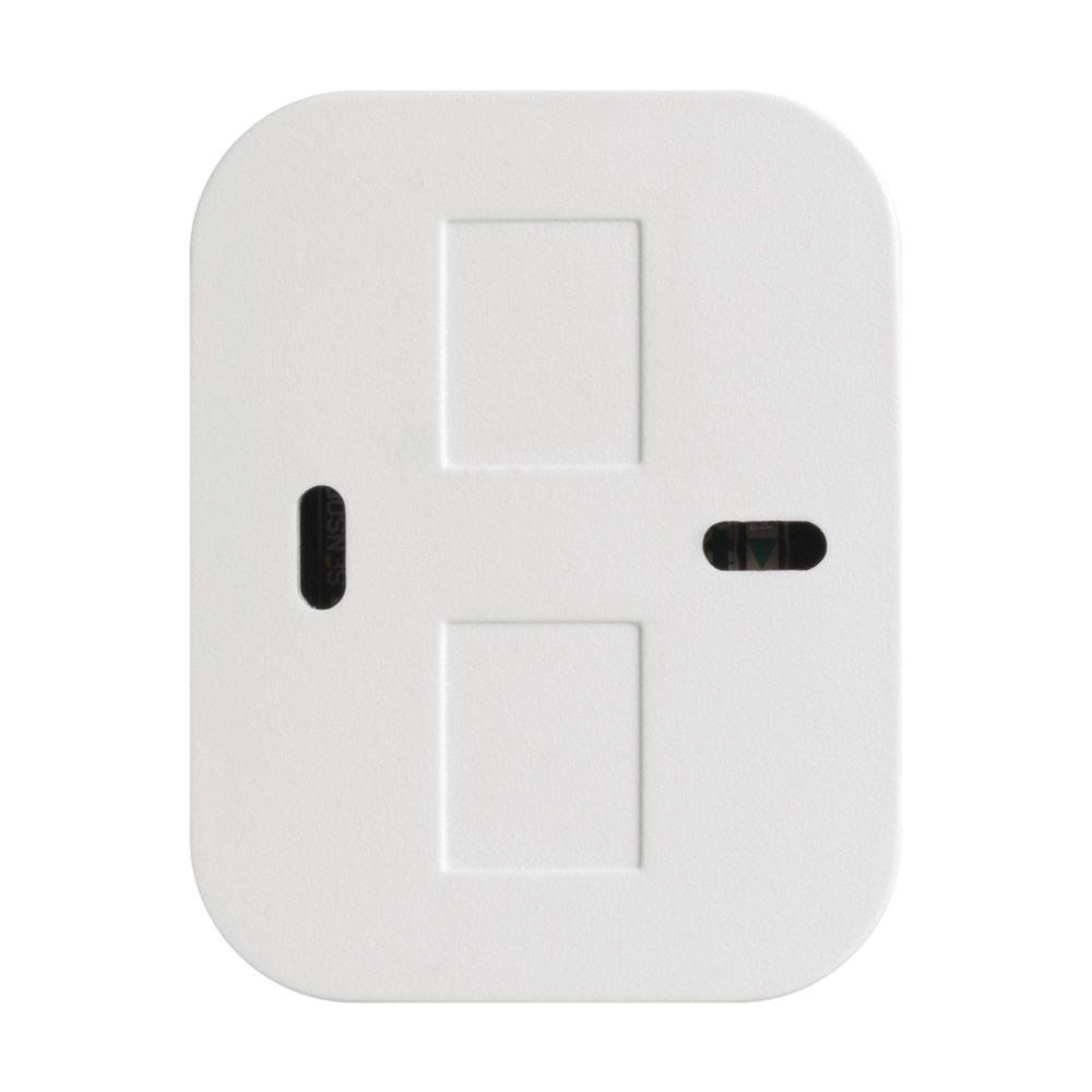 Kit 10 Sensores Magnético de Abertura Sem Fio de Porta e Janela XAS LIGHT BRANCO Intelbras