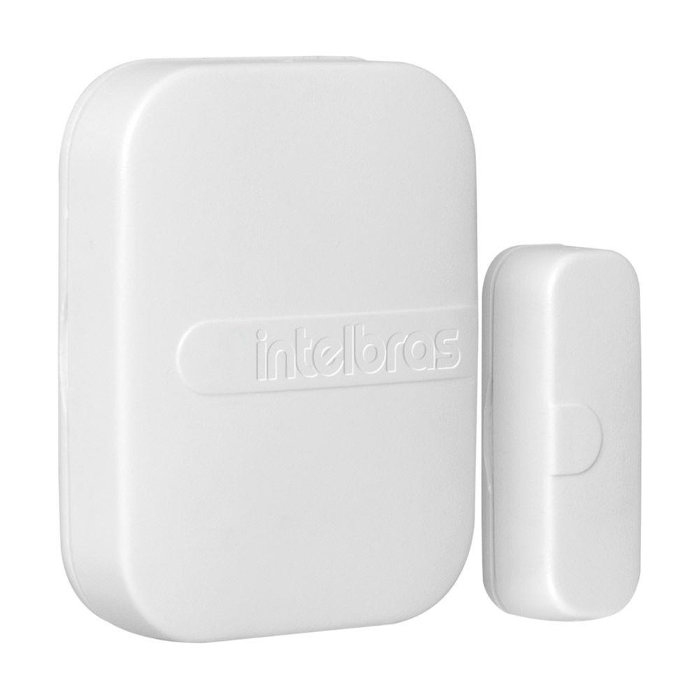 Kit 10 Sensores Magnético de Abertura Sem Fio de Porta e Janela XAS SMART BRANCO Intelbras