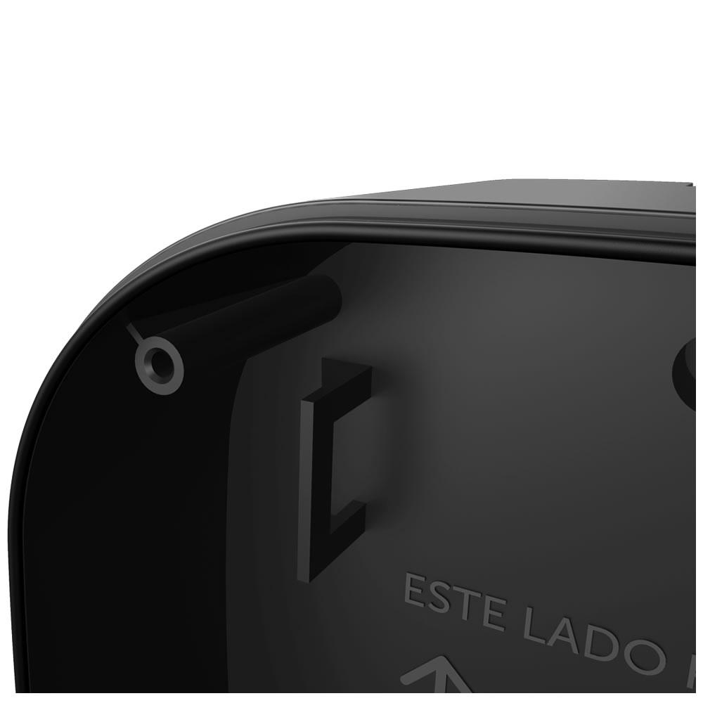 Kit 2 Caixas de Passagem Plástica Câmeras Bullet/Dome Externo VBOX 1100 E BLACK Intelbras