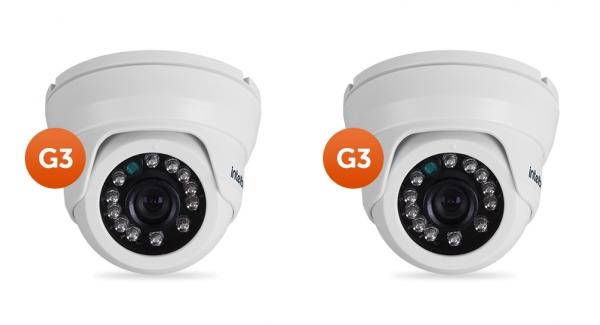 Kit 2 Câmeras AHD ou 900 Linhas 10m VMD 1010 IR G3 Intelbras