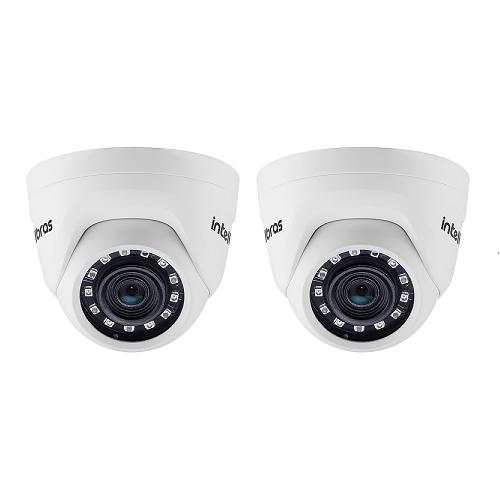 Kit 2 Câmeras IP 1 Megapixel 2.6mm 20m VIP 1020 D Intelbras
