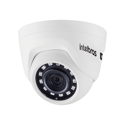 Kit 2 Câmeras IP 1 Megapixel 2.6mm 20m VIP 1020 D Intelbras