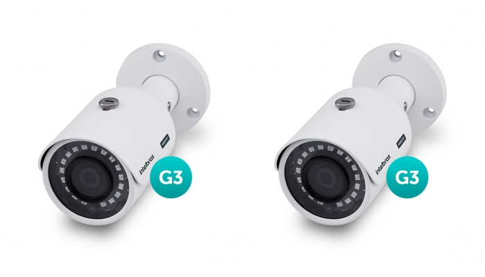 Kit 2 Câmeras Multi HD HDCVI 1 Mega VHD 3130 B G3 Intelbras