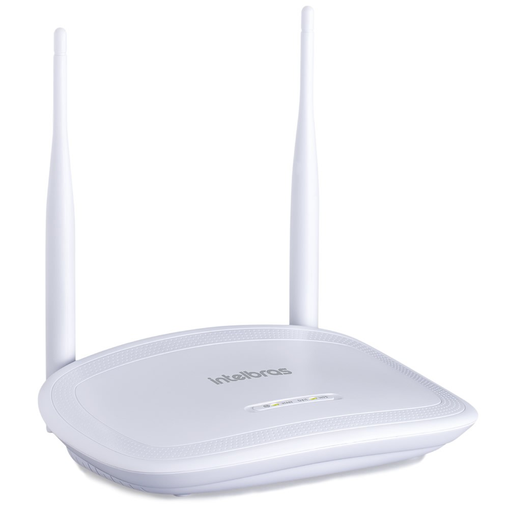 Kit 2 Roteadores Wireless 5 dBi 300Mbps com IPv6 IWR 3000 N Intelbras