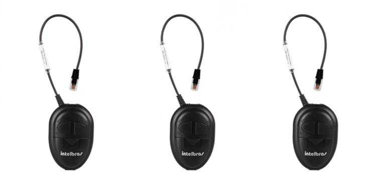 Kit 3 Adaptadores De Pinagem Para Headset ADP 10 Intelbras