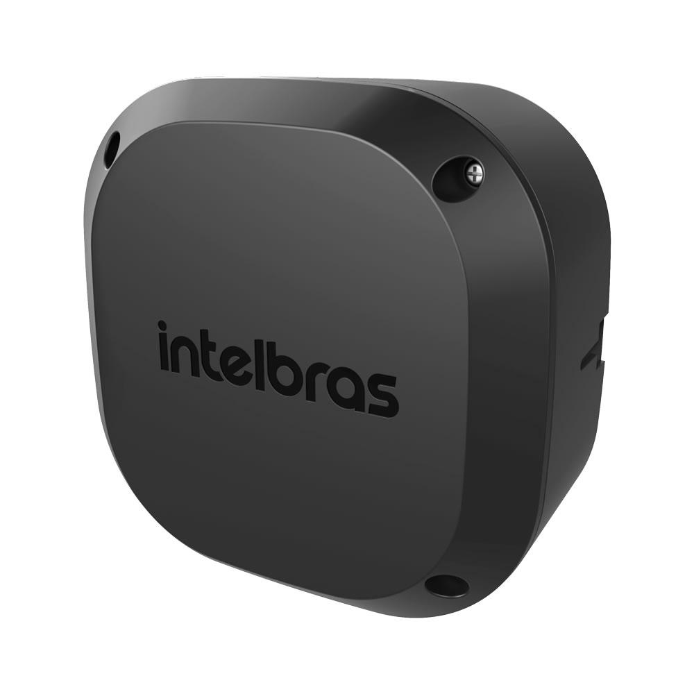 Kit 4 Caixas de Passagem Plástica Câmeras Bullet/Dome Externo VBOX 1100 E BLACK Intelbras