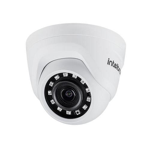 Kit 4 Câmeras AHD 1 Mega ou Analógica 3.6mm 10m VMH 1010 D Intelbras