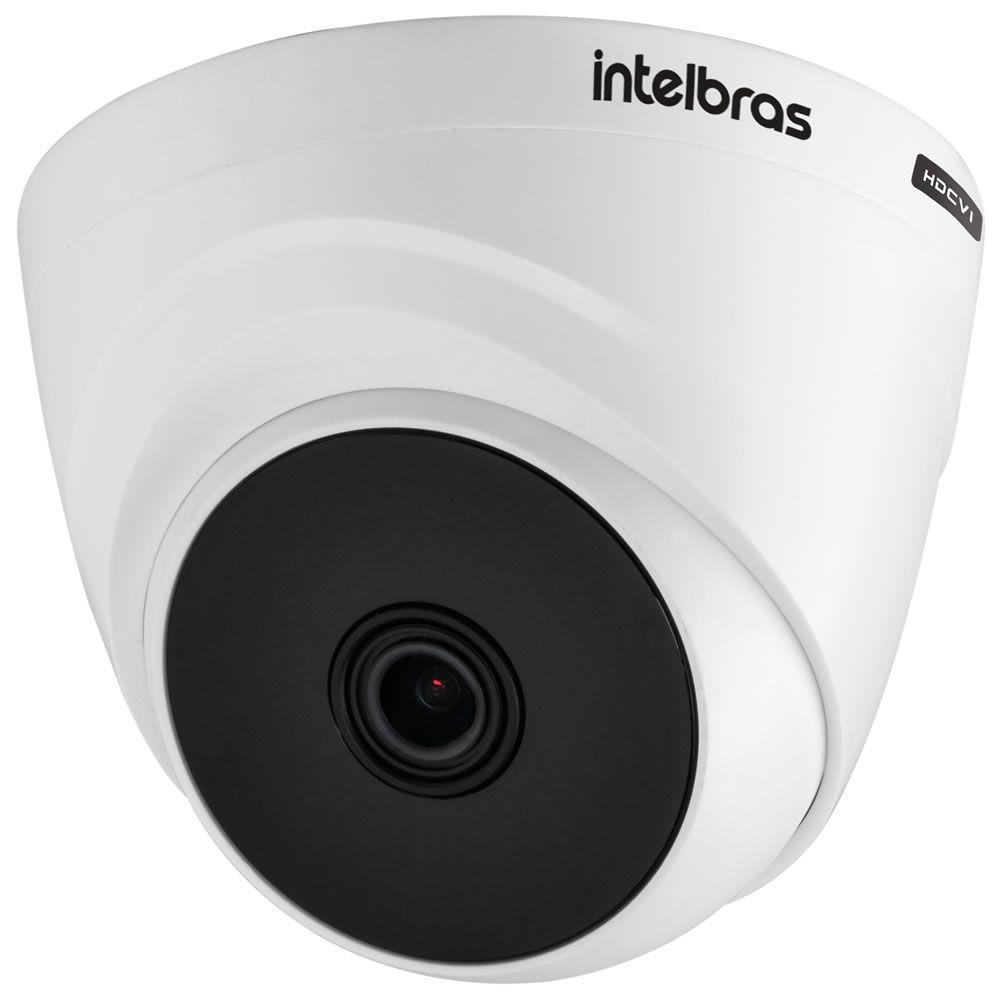 Kit 4 Câmeras HDCVI Lite 1 Megapixel HD 3.6mm 10m VHL 1010 D Intelbras