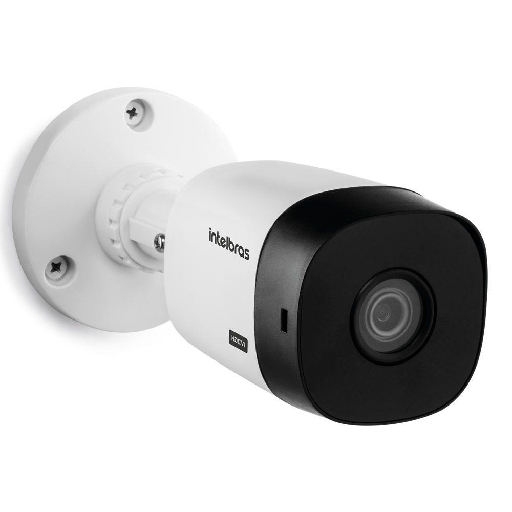 Kit 4 Câmeras HDCVI Lite 1 Megapixel HD 3.6mm 20m VHL 1120 B Intelbras