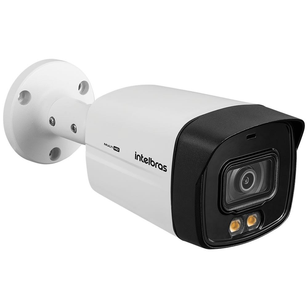 Kit 4 Câmeras Multi HD 2 Megapixels 3.6mm 40m VHD 3240 Full Color Intelbras