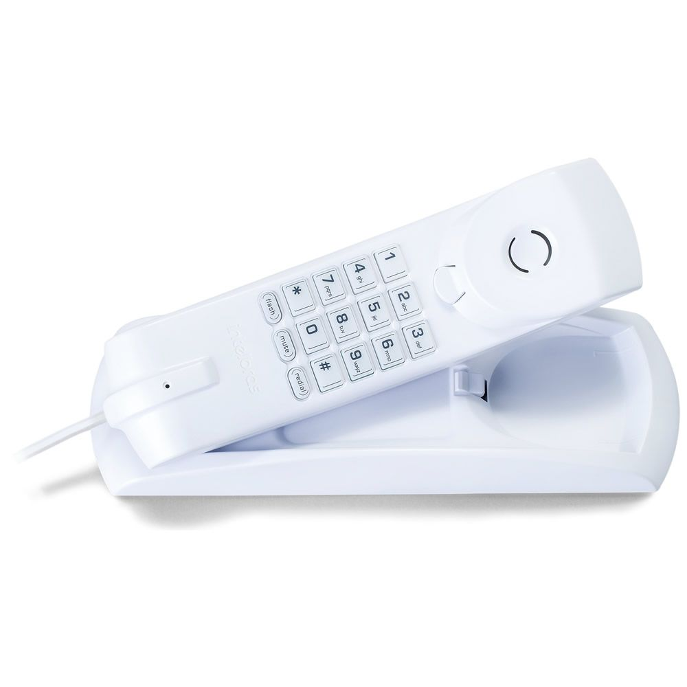 Kit 4 Telefones De Mesa E Parede Tc 20 Branco Intelbras