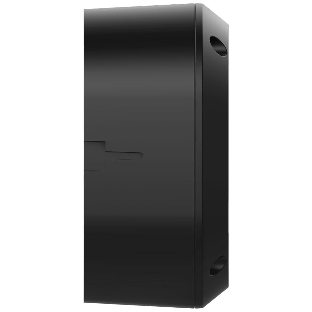 Kit 5 Caixas de Passagem Plástica Câmeras Bullet/Dome Externo VBOX 1100 E BLACK Intelbras