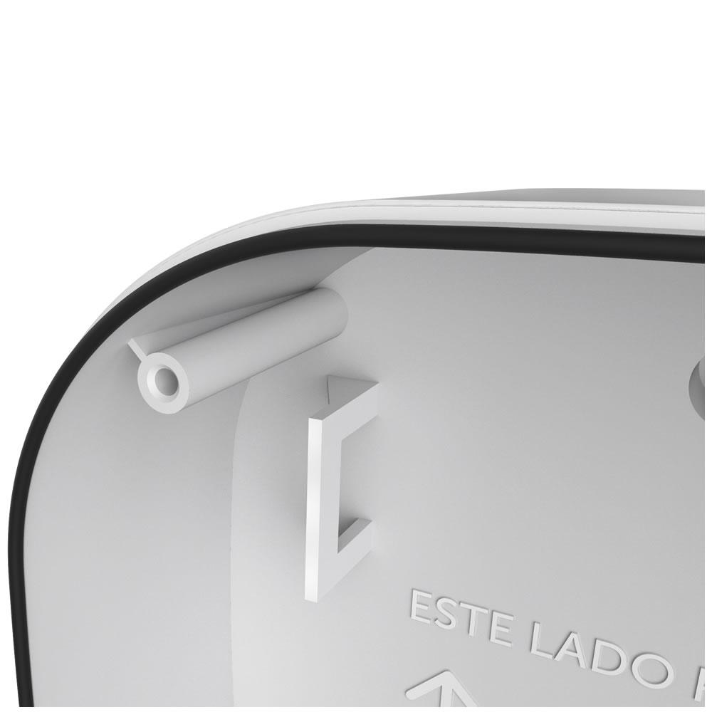 Kit 5 Caixas de Passagem Plástica Câmeras Bullet/Dome Externo VBOX 1100 E Intelbras