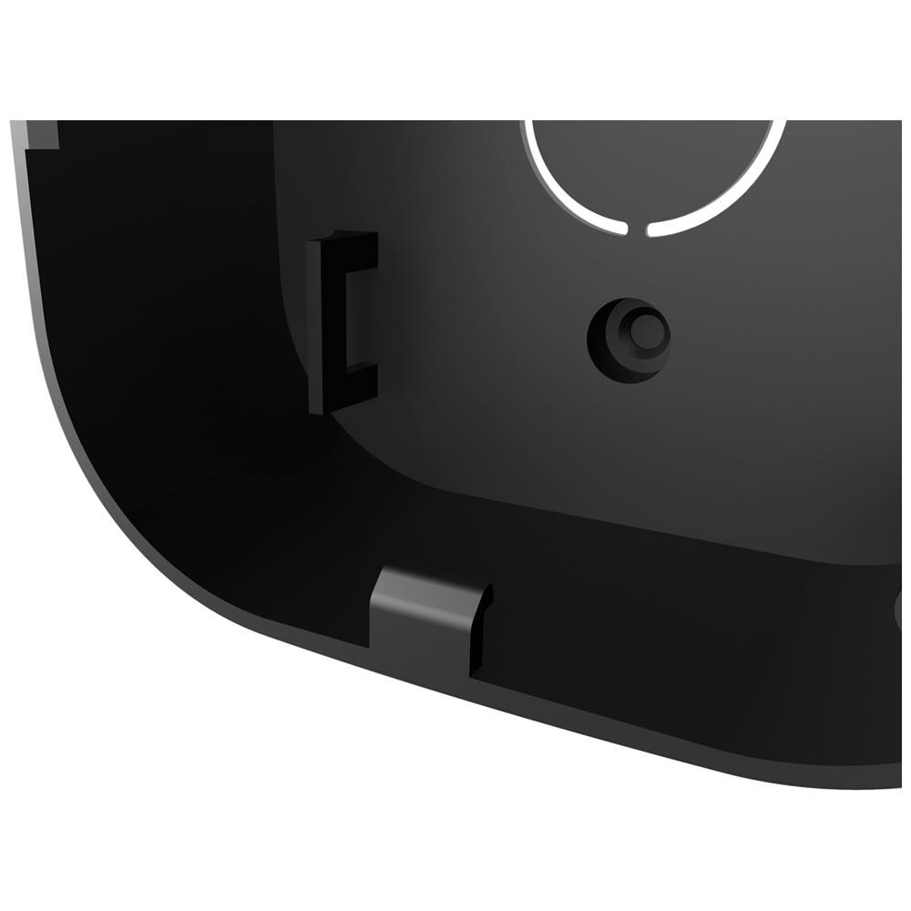 Kit 10 Caixas de Passagem Plástica Câmeras Bullet/Dome Interno VBOX 1100 Black Intelbras