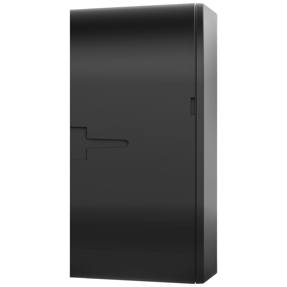 Kit 2 Caixas de Passagem Plástica Câmeras Bullet/Dome Interno VBOX 1100 Black Intelbras