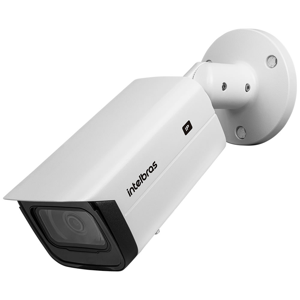 Kit 2 Câmeras IP 2 Megapixels 2.8mm 80m Inteligência Artificial VIP 5280 B IA Intelbras