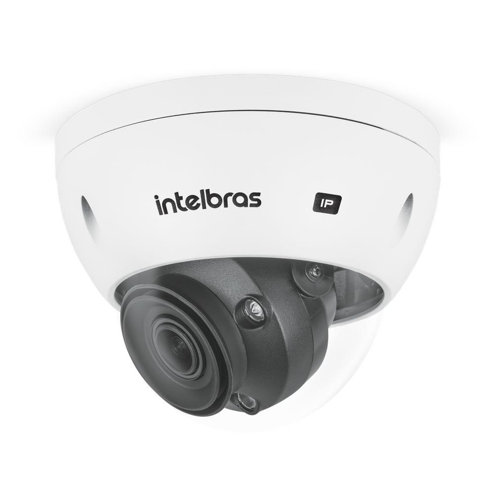 Kit 2 Câmeras IP 5 Megapixels 2.7 a 13,5mm 50m Inteligência Artificial VIP 5550 D Z IA Intelbras