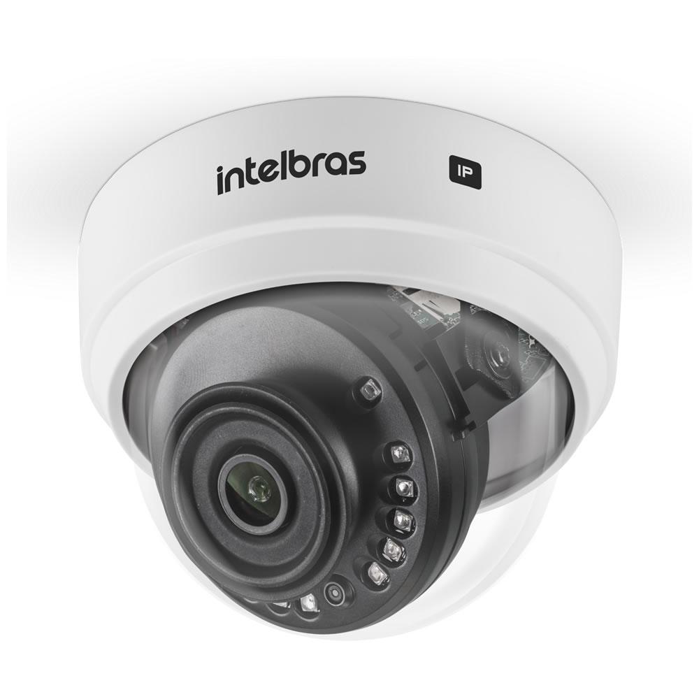 Kit 2 Câmeras IP Sem Fio Wi-Fi Full HD 2.8mm 30m VIP 1230 D W Intelbras