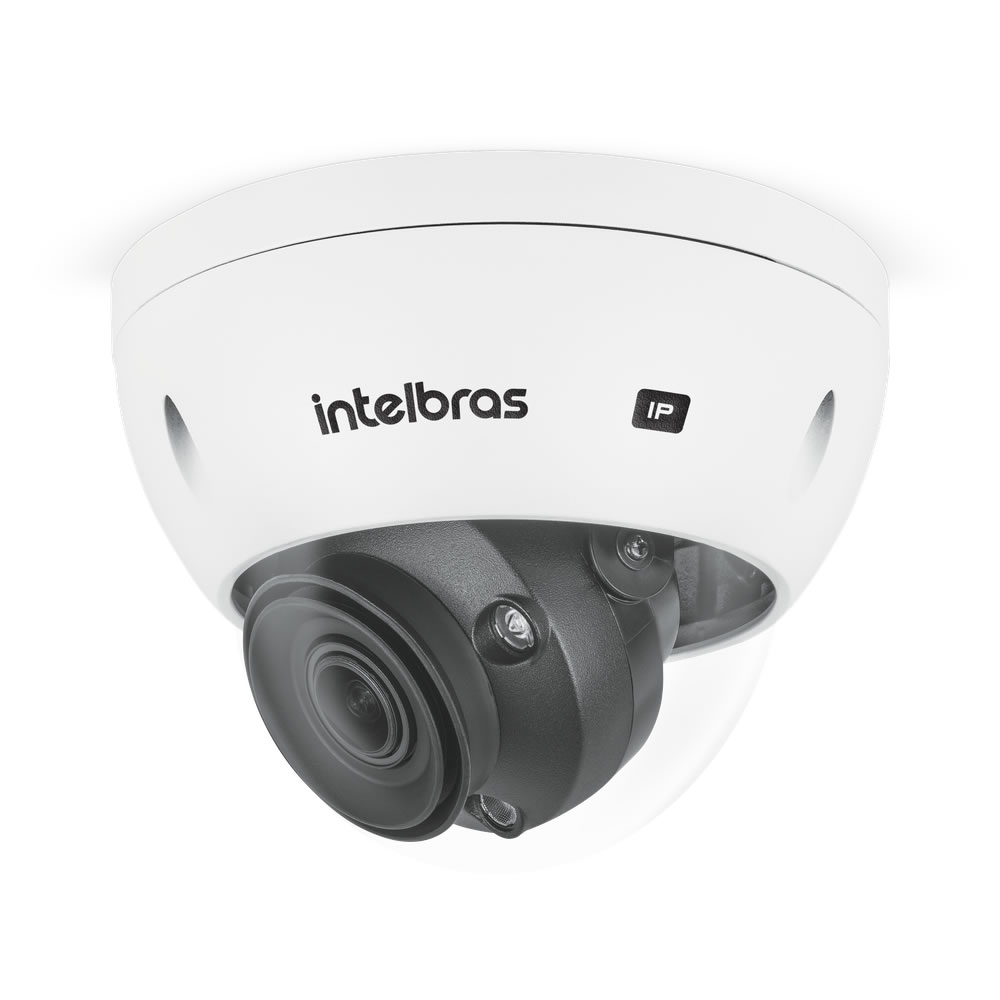 Kit 3 Câmeras IP 5 Megapixels 2.7 a 13,5mm 50m Inteligência Artificial VIP 5550 D Z IA Intelbras