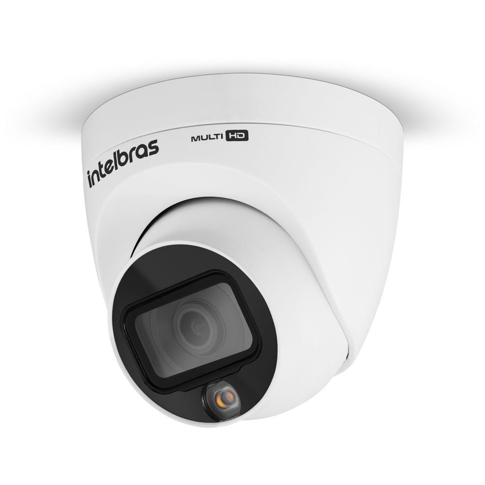 Kit 3 Câmeras Multi HD 2 Megapixels 2.8mm 20m VHD 1220 D FULL COLOR Intelbras