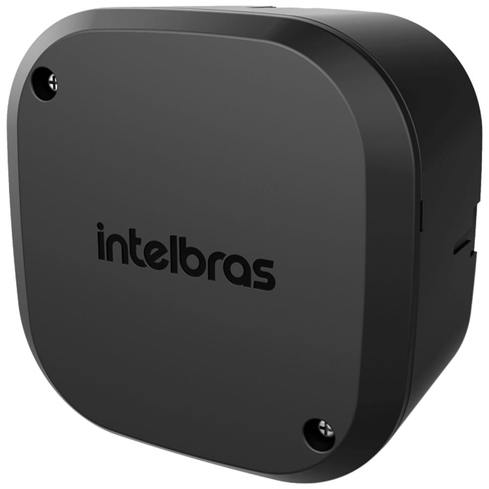 Kit 4 Caixas de Passagem Plástica Câmeras Bullet/Dome Interno VBOX 1100 Black Intelbras