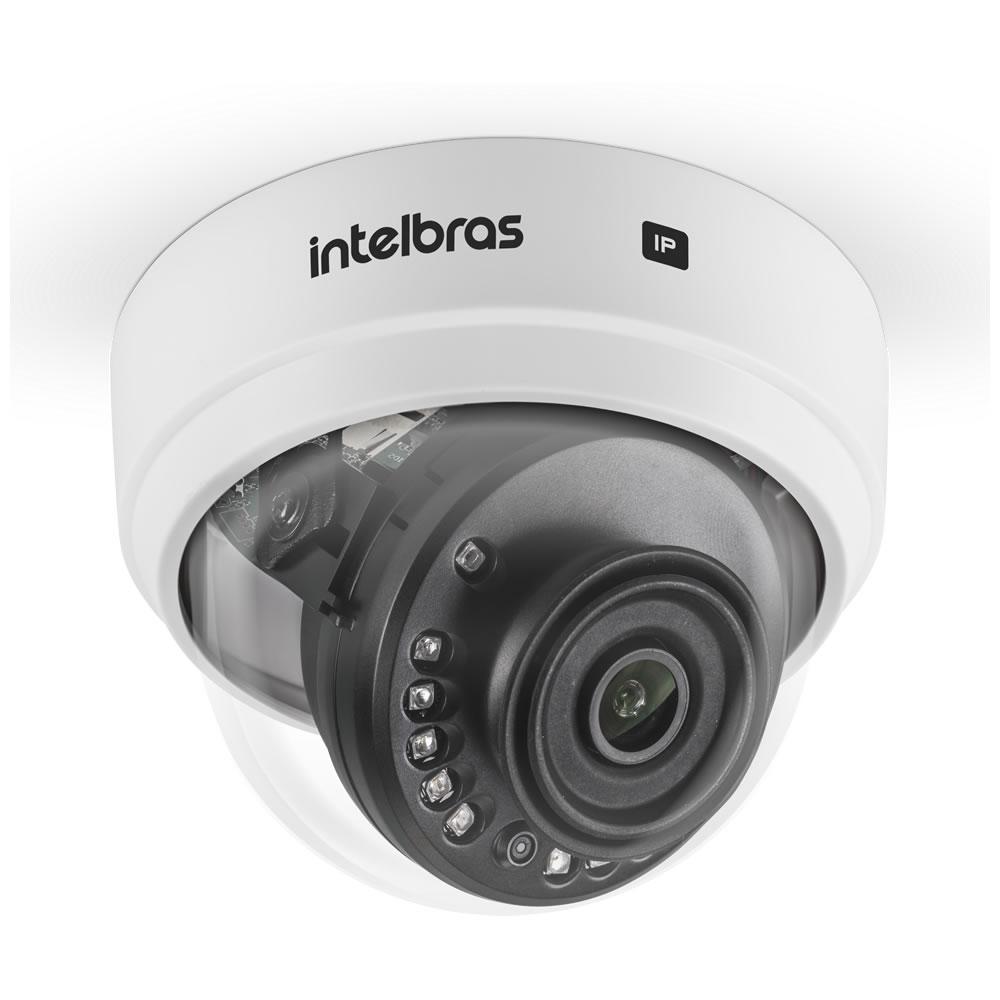 Kit 4 Câmeras IP Sem Fio Wi-Fi Full HD 2.8mm 30m VIP 1230 D W Intelbras