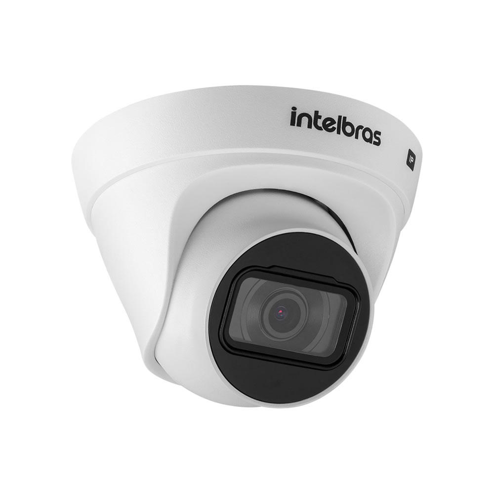 Kit 4 Câmeras IP 2 Megapixels 2.8mm 30m PoE VIP 1230 D Intelbras