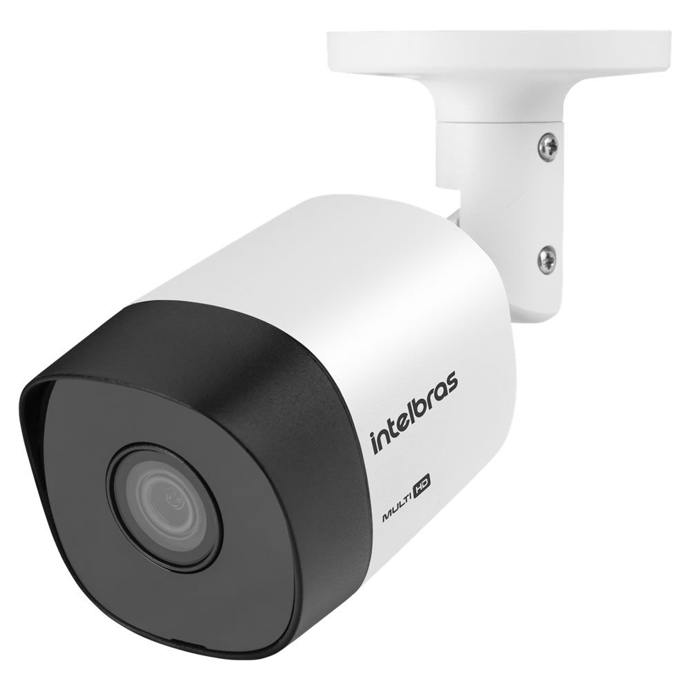 Kit 4 Câmeras Multi HD 1 Megapixel 3.6mm 30m VHD 3130 B G5 Intelbras