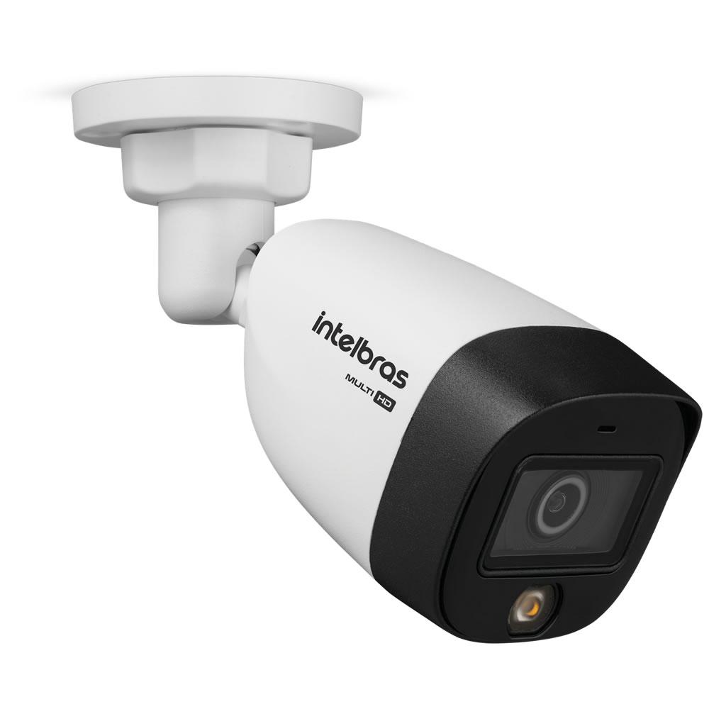 Kit 4 Câmeras Multi HD 2 Megapixels 3.6mm 20m VHD 1220 FULL COLOR Intelbras