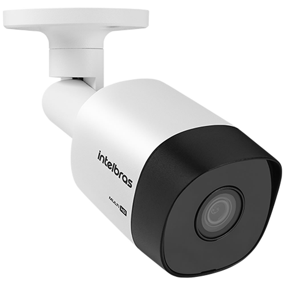 Kit 4 Câmeras Multi HD 2 Megapixel 3.6mm 30m VHD 3230 B G6 Intelbras