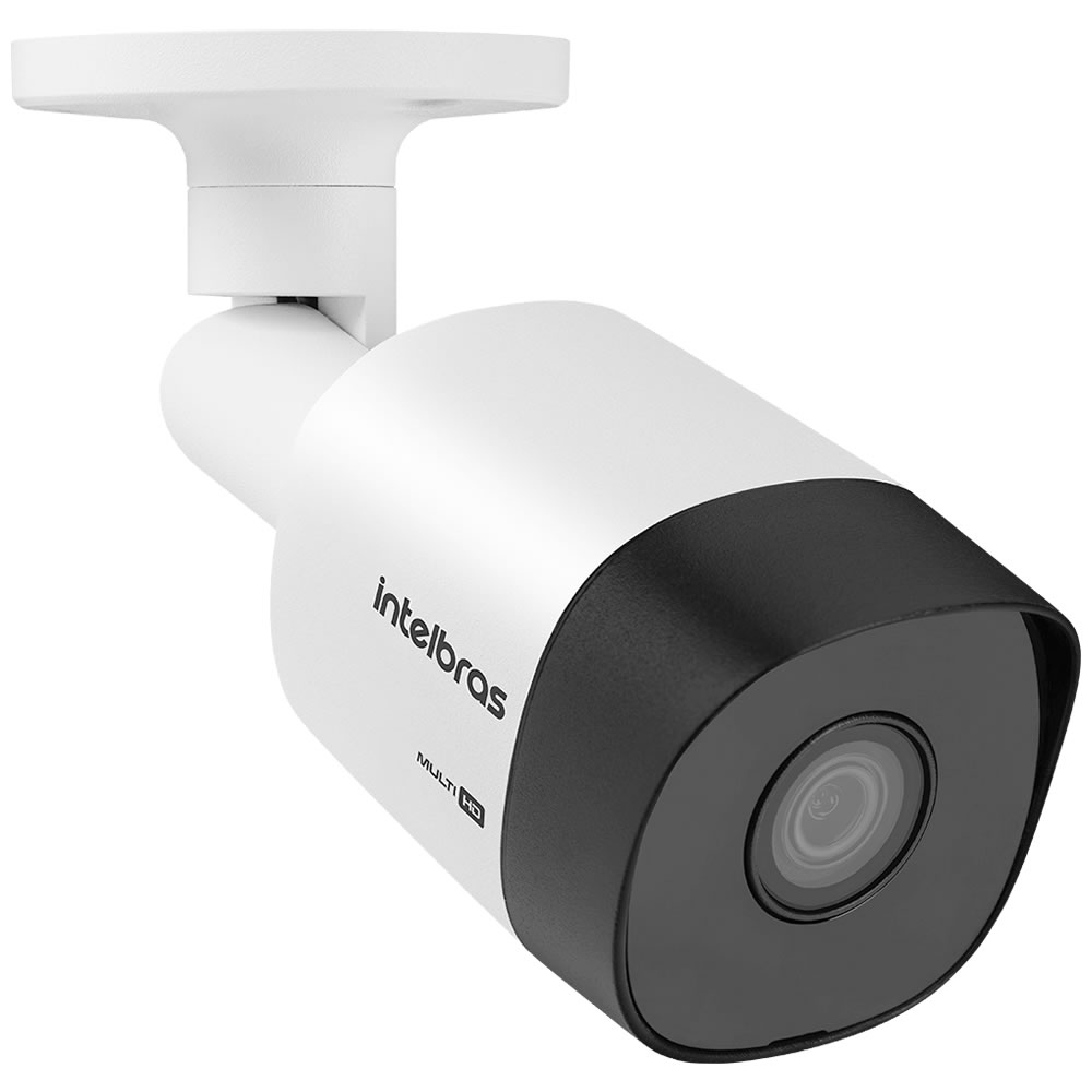 Kit 5 Câmeras Multi HD 1 Megapixel 3.6mm 30m VHD 3130 B G6 Intelbra