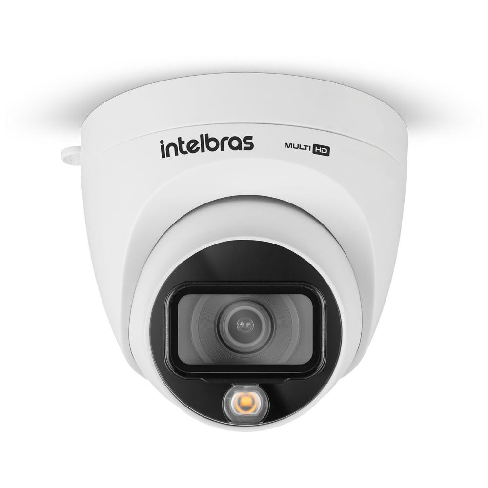 Kit 5 Câmeras Multi HD 2 Megapixels 2.8mm 20m VHD 1220 D FULL COLOR Intelbras