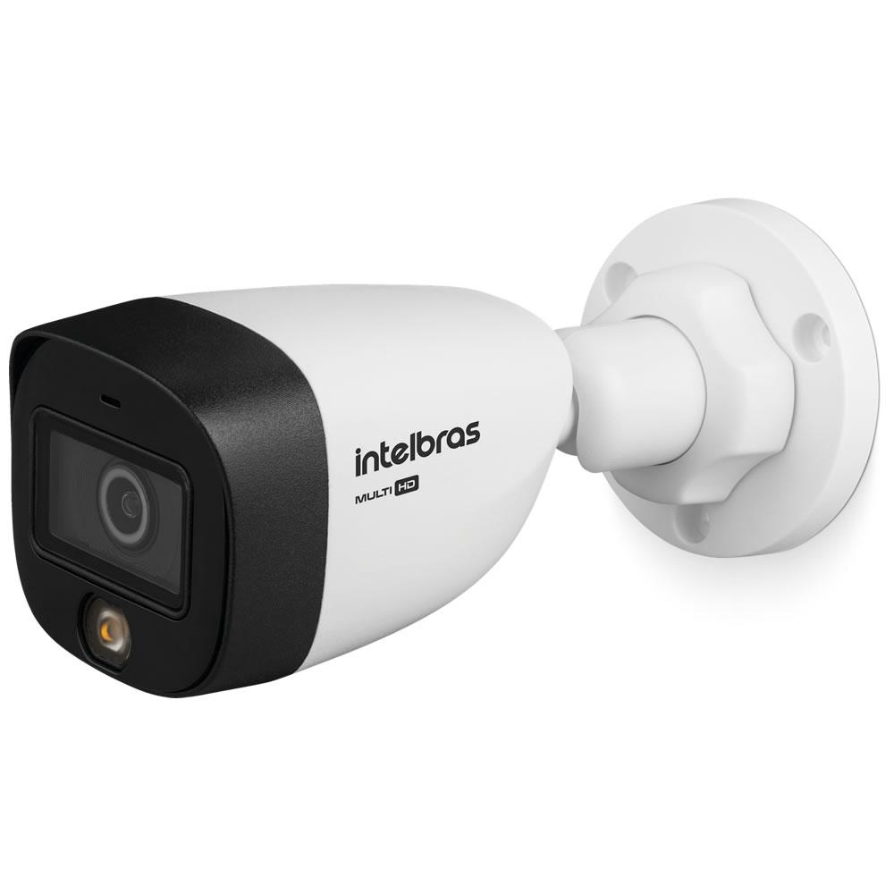 Kit 5 Câmeras Multi HD 2 Megapixels 3.6mm 20m VHD 1220 FULL COLOR Intelbras