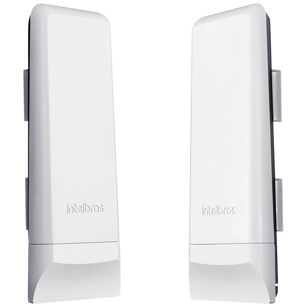 Kit Enlace Ponto A Ponto CPE 5 Ghz 16 Dbi Wom 5a Mimo Intelbras