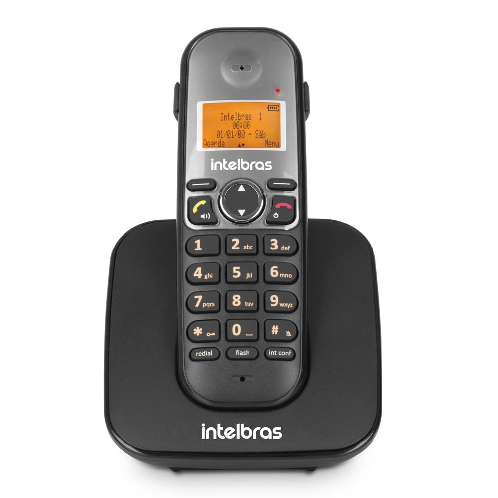Kit Telefone 2 Linhas Ts 5150 + 5 Ramais Ts 5121 + 6 fones HC 10 Intelbras