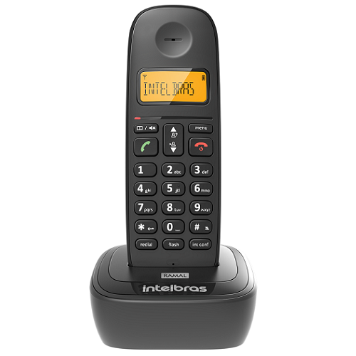 Kit Telefone Sem Fio Com 1 Ramal TS 2512 Intelbras