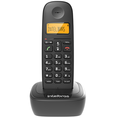 Kit Telefone Sem Fio TS 2510 + 6 Ramais TS 2511 Intelbras