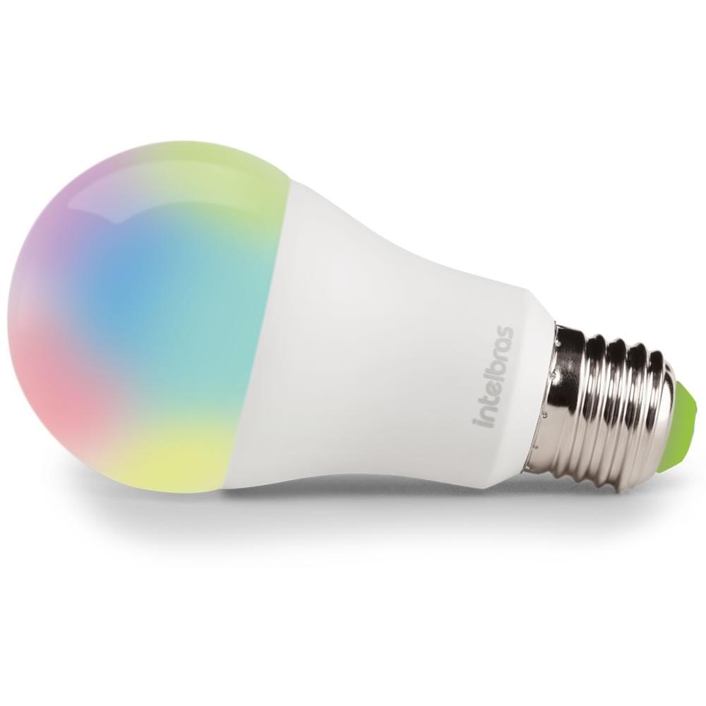 Lâmpada LED Wi-Fi Smart Alexa Google EWS 410 Intelbras