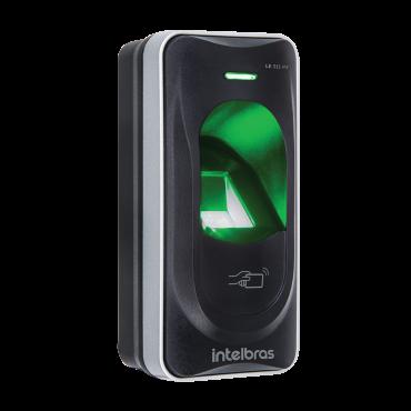 Leitor Biométrico e Cartão 13,56 MHz LE 311 MF Intelbras