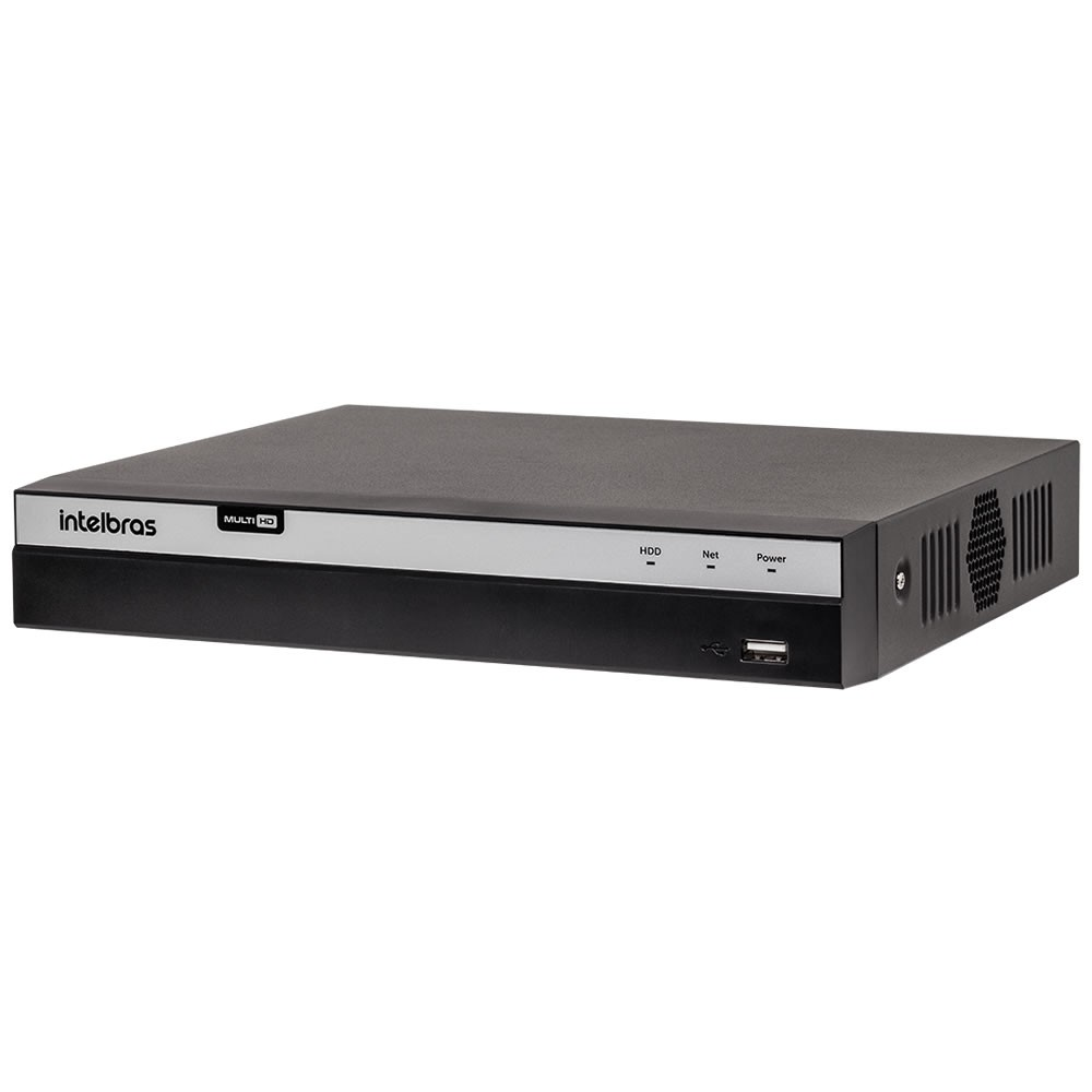Dvr Stand Alone Multi HD 04 Canais 04 Megas LITE MHDX 3104 + HD 4 Teras Intelbras