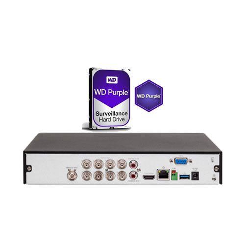 Dvr Stand Alone Multi HD 08 Canais 4K Ultra HD MHDX 5108 + HD 4TB Intelbras