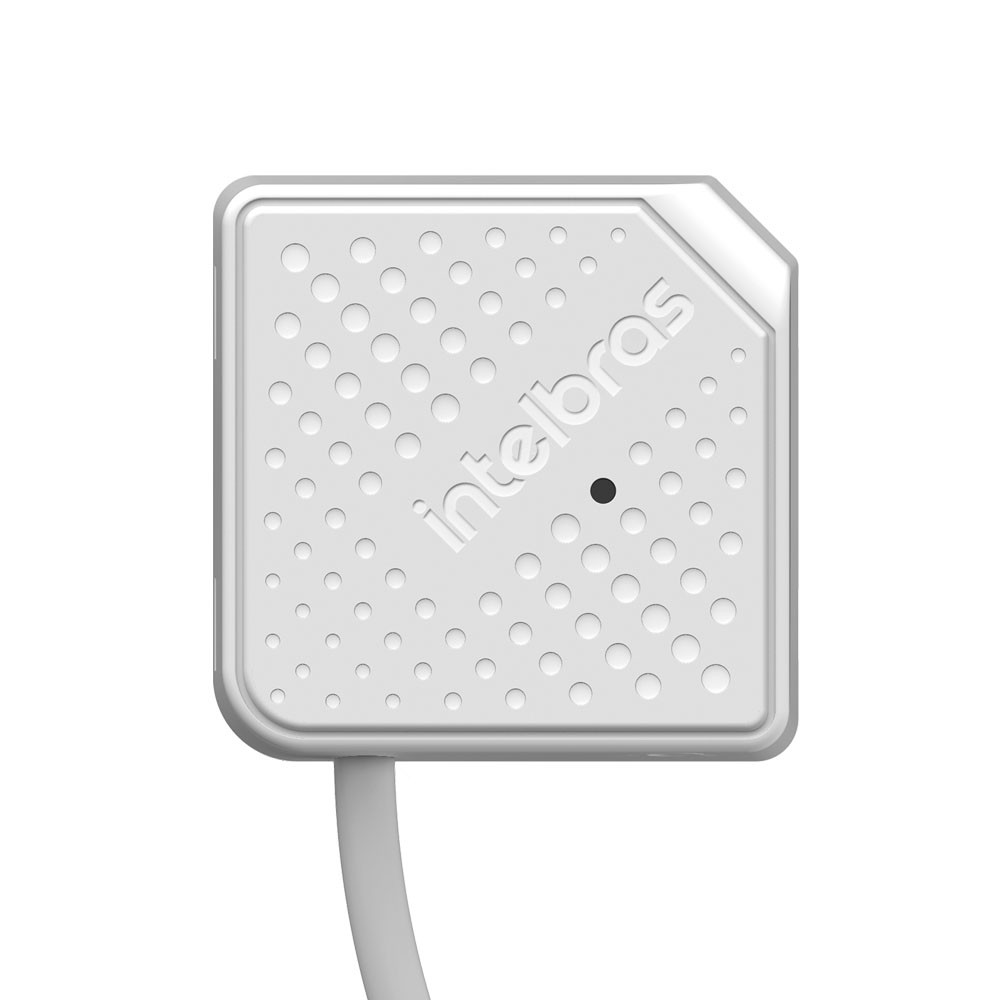 Microfone Para Sistema De Segurança MIC 3080 Intelbras