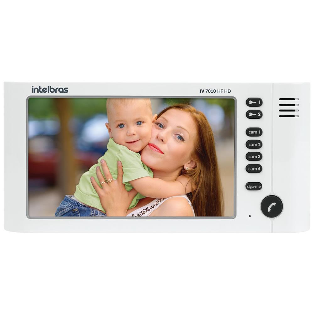 Módulo Interno Adicional Com Viva Voz Para Vídeoporteiro IV 7010 HF HD Intelbras