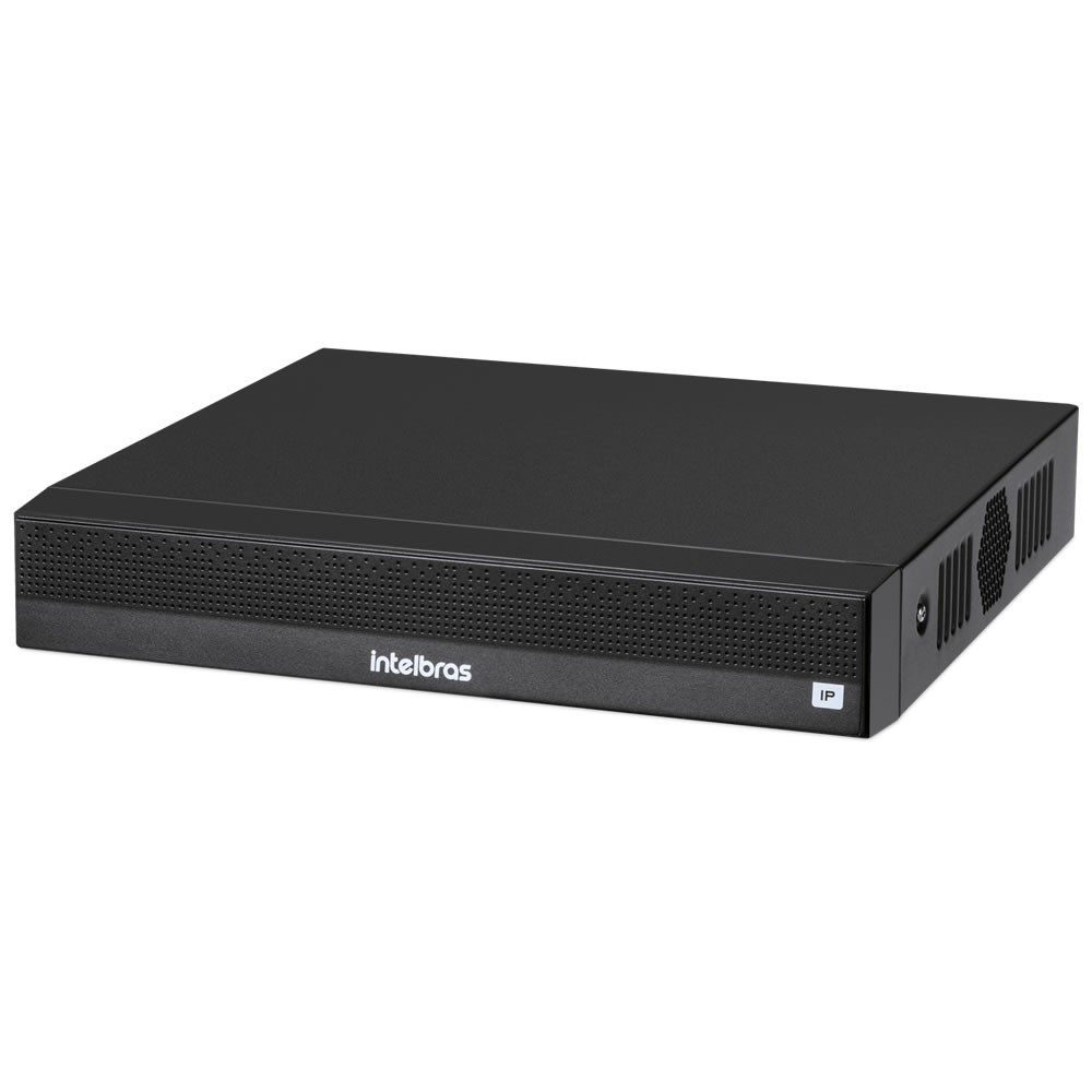 Gravador de Vídeo IP NVR 4 Canais 6 MP NVD 1304 + HD 8 Teras Purple Intelbras