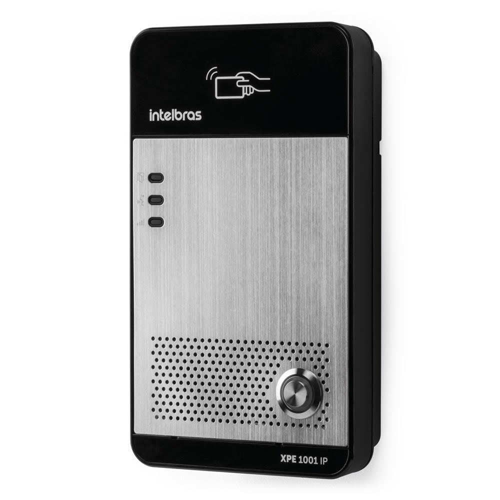 Porteiro Eletrônico IP Tag Cartão RFID  XPE 1001 IP Intelbras