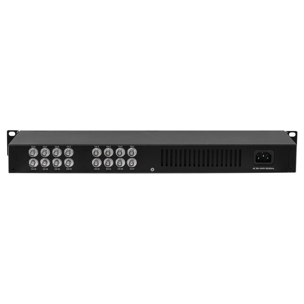 Power Balun 16 Canais 4K com Alimentação VB 3016 WP Intelbras
